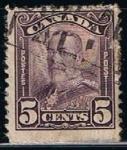 Sellos de America - Canadá -  Scott  169  Rey george V