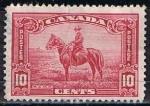 Sellos de America - Canadá -  Scott  223  Policia Montada del Canada
