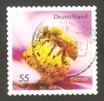 Stamps Germany -  2624 - Abeja en flor