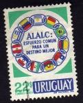 Stamps America - Uruguay -  A.L.A.L.C.