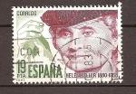 Sellos del Mundo : Europa : España : helen keller 1880-1968