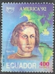 Stamps of the world : Ecuador :  America y Colon