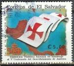 Sellos de America - El Salvador -  5TO SENTENARIO DEL DESCUBRIMIENTO DE AMERICA