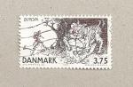 Sellos de Europa - Dinamarca -  Europa