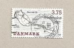 Stamps Denmark -  Islas danesas