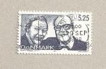 Sellos de Europa - Dinamarca -  Actores
