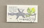 Sellos de Europa - Dinamarca -  25 Aniv. Amnistía Internacional
