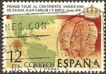 Sellos del Mundo : Europa : España : Viaje al continente americano