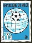Sellos del Mundo : Africa : Nigeria : FUTBOL - BALON Y RED