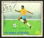 Sellos del Mundo : Africa : Guinea_Ecuatorial : FUTBOL - ARGENTINA 1978 - PELE