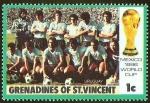 Sellos del Mundo : America : San_Vicente_y_las_Granadinas : FUTBOL - MEXICO 1986 - URUGUAY