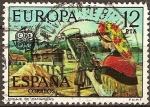 Sellos del Mundo : Europa : España : Encaje de Camariñas