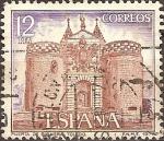 Sellos de Europa - España -  Puerta de Bisagra.Toledo