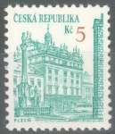Stamps : Europe : Czech_Republic :  CHEQUIA_SCOTT 2891 ARQUITECTURA PLZEN