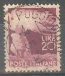 Stamps : Europe : Italy :  ITALIA_SCOTT 474 ANTORCHA. $0.2