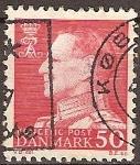 Sellos de Europa - Dinamarca -  Rey Federico IX de Dinamarca