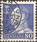 Sellos del Mundo : Europa : Dinamarca : Rey Federico IX de Dinamarca