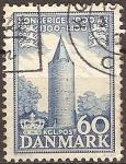 Sellos del Mundo : Europa : Dinamarca : 1000 años de reino danés.Torre Ganso, Vordinborg.