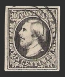 Stamps Luxembourg -  Guillermo III - 10 c.