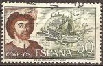Sellos del Mundo : Europa : España : Juan Sebastián Elcano