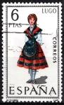 Sellos de Europa - España -  1903 Trajes típicos españoles,  Lugo.