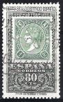 Stamps Spain -  Centenario del sello dentado español.