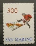 Stamps Europe - San Marino -  ABANDERADOS
