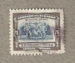 Stamps Ecuador -  L Aniversario Union Panamericana
