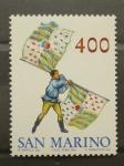Stamps San Marino -  ABANDERADOS