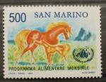 Stamps Europe - San Marino -  PROGRAMA ALIMENTARIO MUNDIAL