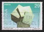 Sellos de Europa - España -  MINERALES: 7.232.013,00-Pirita