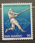 Sellos del Mundo : Europa : San_Marino : CAMPEONATO MUNDIAL DE BEISBOL'78