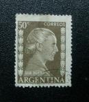 Sellos de America - Argentina -  Eva peron.