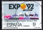 Sellos de Europa - España -  2875 La era de los Descubrimientos. EXPO-92.(2)