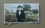 Stamps Spain -  Homenaje a Castelao.