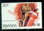 Sellos del Mundo : Africa : Rwanda : Telecomunicacioes y salud