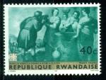 Sellos del Mundo : Africa : Rwanda : Pintura. Murillo