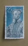 Stamps Spain -  Personajes Españoles.