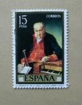 Stamps Spain -  El Organista Felix Lopez ( Vicente Lopez )