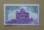 Sellos de Europa - España -  Año Santo Compostelano. ( Eunate )