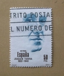 Stamps Spain -  Joaquin Turina. 1882 - 1949