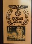 Sellos de Europa - Alemania -  deutsches reich, ocupacion polonia