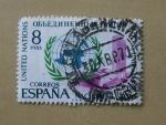 Stamps Spain -  Naciones Unidas.