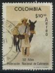 Sellos del Mundo : America : Colombia : 50 años Federación Nacional de Cafeteros