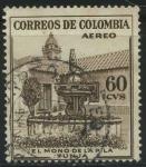 Sellos del Mundo : America : Colombia : El Mono de la Pila - Tunja
