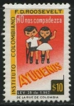 Stamps America - Colombia -  Instituto Colombiano F.D. Roosevelt