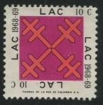 Stamps America - Colombia -  LAC 1968-69