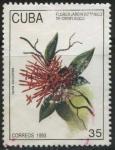 Stamps Cuba -  Flores Jardín Botánico Cienfuegos