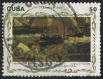 Sellos de America - Cuba -  Haciéndose a la mar (Joaquín Sorolla)
