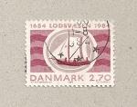 Sellos de Europa - Dinamarca -  Servicio pilotaje